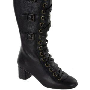 Chloe lace up boots size 6(36) BNWOB